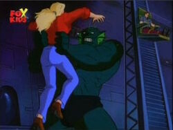 Abomination Grabs Betty