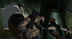 Deathstrike Stabs Logan Sabretooth HV