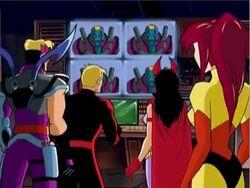 Avengers Watch Kang Broadcast
