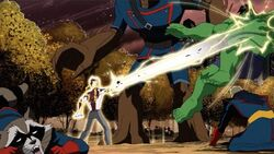 Korvac Blasts Hulk AEMH