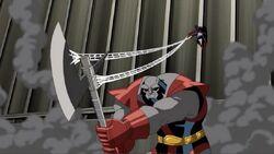 Spider-Man Webs Terrax Ax AEMH