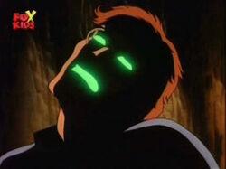 Bruce Eyes Glow