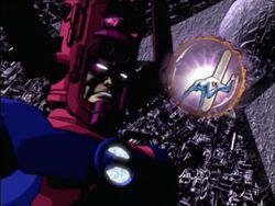 Galactus Captures Silver Surfer