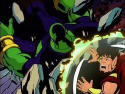 Drax Crashes Onto Pip