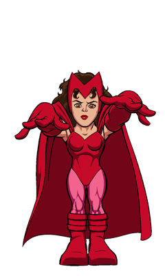 Scarlet Witch SHS