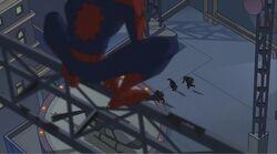 Spider-Man Spots Robbers SSM
