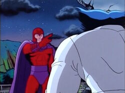 Magneto Thinks Xavier Abandoned Beast