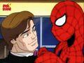 Spider-Flash Threatens Peter.jpg