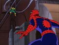 Spider-Man Doctor Octopus Stuck on Dynamo.jpg