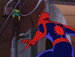 Spider-Man Doctor Octopus Stuck on Dynamo