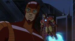 Giant Man Iron Man See Thor UA