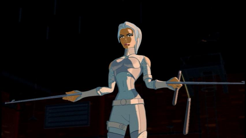 silver sable spiderman the new animated series