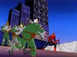 MPs Confront Spider-Man