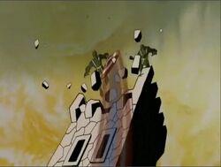Cap Shield Destroys HYDRA WWII Tower AEMH