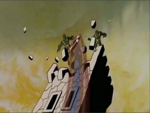 File:Cap Shield Destroys HYDRA WWII Tower AEMH.jpg