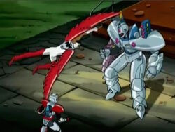 Falcon Attacks Ultron