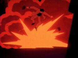 Tony Hulk Experiment Explosion