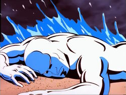Silver Surfer Earth Wave
