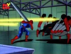 Spider-Man Black Widow Dodge Blasts