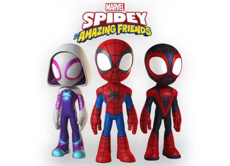 Spidey and His Amazing Friends Announcement