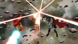 Iron Man Thor See Galactus Disappear AEMH