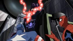 Spider-Man Asks About Captain America Calmness AEMH