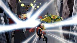 Terrax Blasts Avengers Fliers AEMH