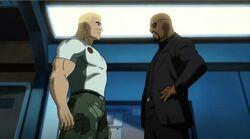 Fury Confronts Steve UA2