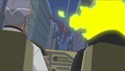 Spider-Man Attacks Van SSM