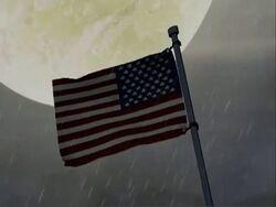 US Flag WWII AEMH