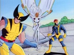 X-Men Enter Drake Base