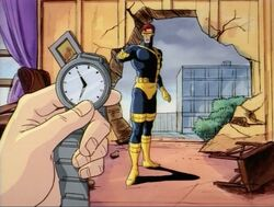 Cyclops Asks About Watch
