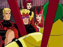Hawkeye Asks Vision About Wonder Man