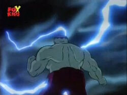 Grey Hulk Emerges