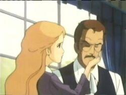 Elizabeth Comforts Victor MOF