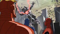 Avengers See Galactus Lifted AEMH