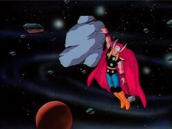 Thor Unconscious Asteroid