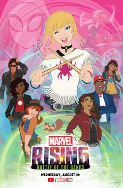 Marvel Rising Battle of the Bands Poster