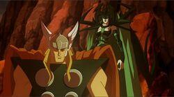 Thor Wont Fight Hela HVT