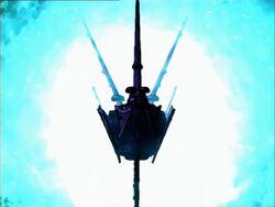 Nebula Ship Enters Plasma Jump