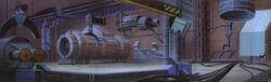 Rocket Assembly Plant Interior