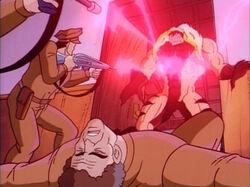 Court Guards Blast Sabretooth
