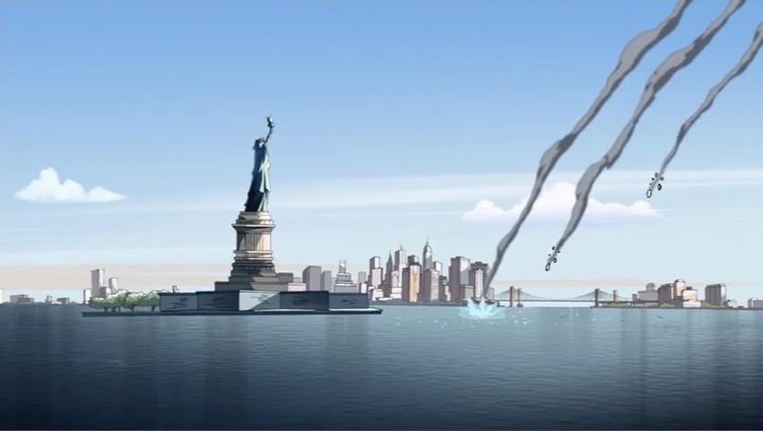 Missiles Crash Into Harbor AEMH