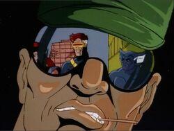 Man Watches Cyclops Beast DoFP