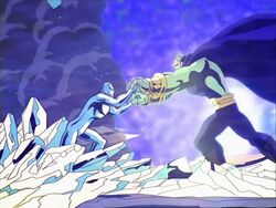 Silver Surfer vs Drax