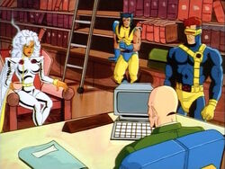 X-Men Brief Xavier on Drake Base Attack