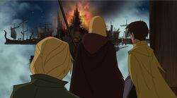 Thor Sees Burning Inn TTA