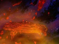 Galactus Ship Asteroid Core