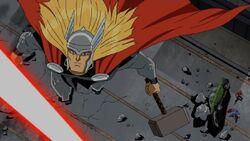 Avengers See Galactus Ship Explode AEMH