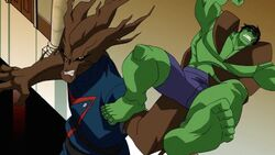 Groot Grabs Hulk AEMH